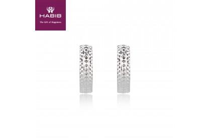 Dawn 750/18K White Gold Earrings (2.51G)