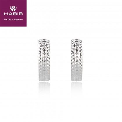 Dawn Earrings in 750/18K White Gold (2.51G)