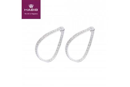 Fancy Hoop Diamond Earrings