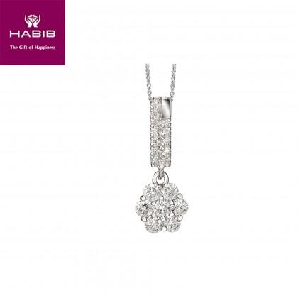 Terra Diamond Necklace in 750/18K White Gold 25056(N)