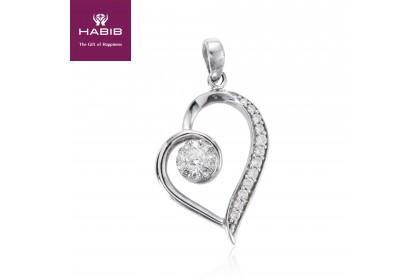 Polaris Amor En La Niebla Diamond Pendant