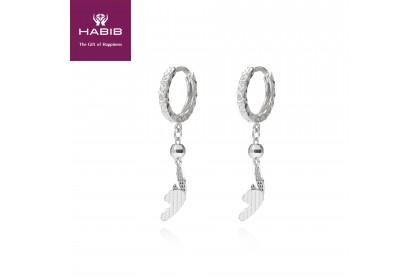 Ko-Murasaki 750/18K White Gold Earrings (1.89G)