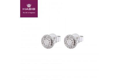 HABIB Boude White Gold Diamond Earrings