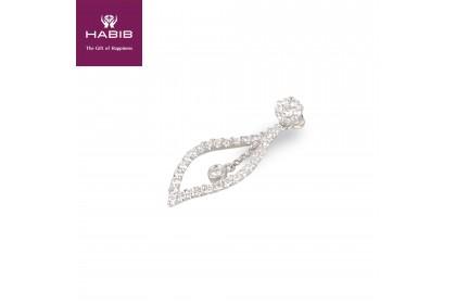 Adore Torque White Gold Diamond Pendant