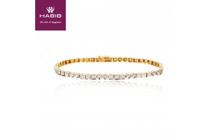 Yellow Hydra Diamond Bracelet