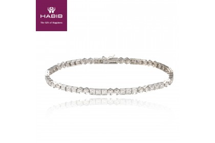 White Hydra Diamond Bracelet