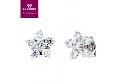 Bunga Tanjung Crete Diamond Earrings