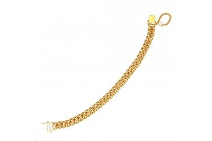 Sauh Lama Kosong Gold Bracelet (47.22G)