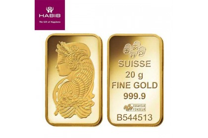 PAMP Suisse 20.00G Gold Bar - Lady Fortuna