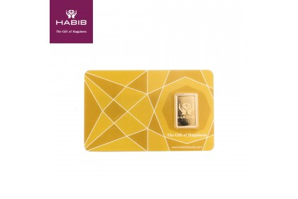 HABIB 2.50G Gold Bar