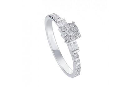 Mare White Gold Diamond Ring