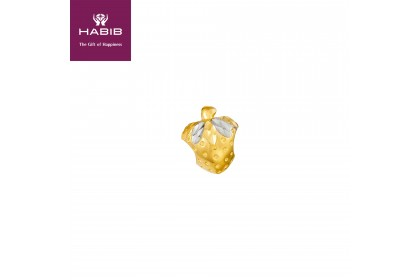 Fragola White and Yellow Gold Charm (2.17G)