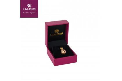 HABIB Autumn Gold Pendant, 18K Gold (0.70G)
