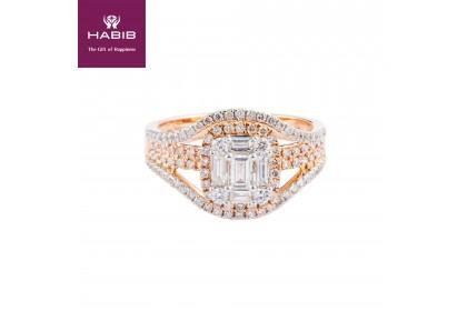 Fire on Ice Amabella Diamond Ring
