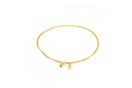Sauh Machine Gold Anklet (4.21G)