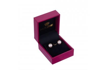 Peach Pearl Jewellery Set