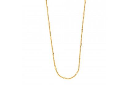 Oro Italia 916 Yellow Gold Necklace (11.59G) GC25220720
