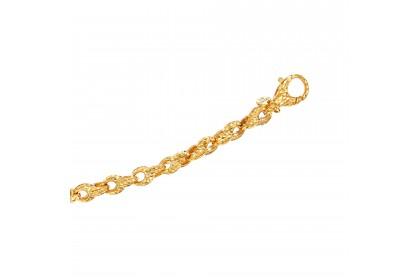 Oro Italia 916 Emma Yellow Gold Bracelet (14.03G) GW36240220
