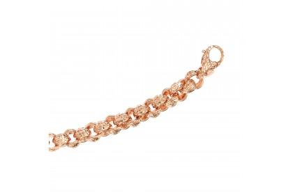 Oro Italia 916 Emma Rose Gold Bracelet (27.40G) GW3301(R)