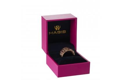 Oro Italia 916 Sicilia White and Yellow Gold Ring (6.27G) GR44471120-BI
