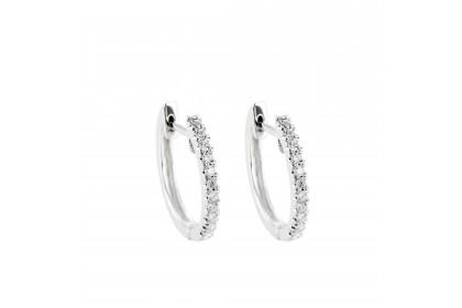 Jessie White Gold Diamond Earring