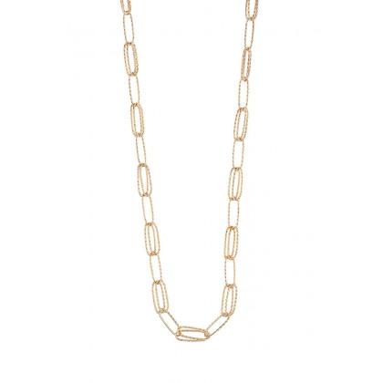 Oro Italia 916 Graffetta Yellow Gold Necklace (45.28G) GC25371220