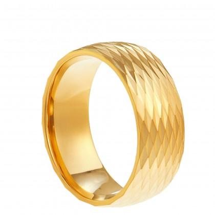 Oro Italia 916 Yellow Gold Ring (3.94G) GR4114