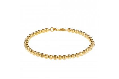 Oro Italia 916 Piccolo Yellow Gold Bracelet (9.87G) GW36080220(4)