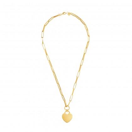 Oro Italia 916 Graffetta Yellow Gold Necklace (15.59G) GC25840321