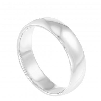High Polish Men's Ring in 950/Platinum 093160920(PT)