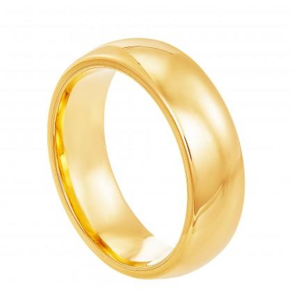 Oro Italia 916 Yellow Gold Ring (5.13G) GR4301
