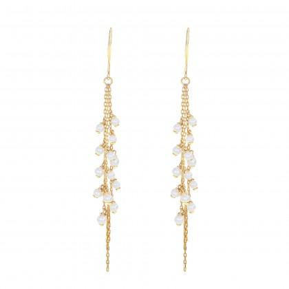 Lysander Pearl Earrings in 375/9K Yellow Gold ER109346