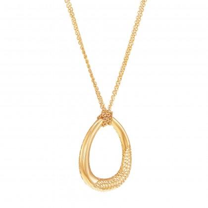 Oro Italia 916 Yellow Gold Necklace (11.08G) GC25670221