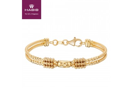 Oro Italia 916 Yellow Gold Baby Bangle (8.66G) GB86370120(BBY)