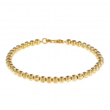 Oro Italia 916 Piccolo Yellow Gold Bracelet (10.14G) GW36080220(4)