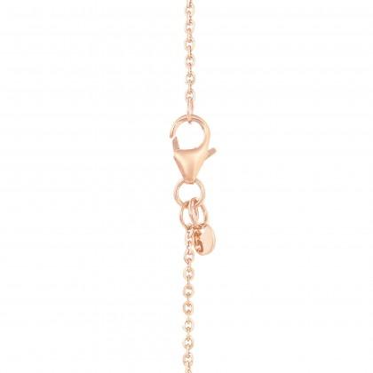 Oro Italia 916 Rose Gold Necklace (4.91G) GC25860321(RW)-BI