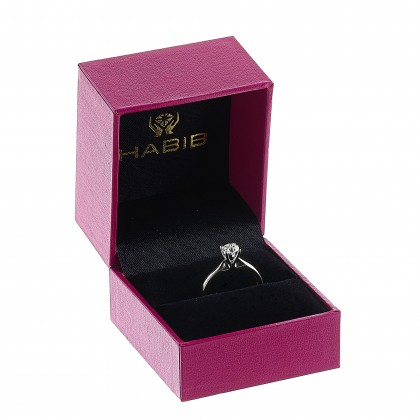 White Gold Ring Casing, 750/18K Gold (0.70CT) A0394