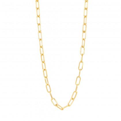 Oro Italia 916 Graffetta Yellow Gold Necklace (39.23G) GC25411220