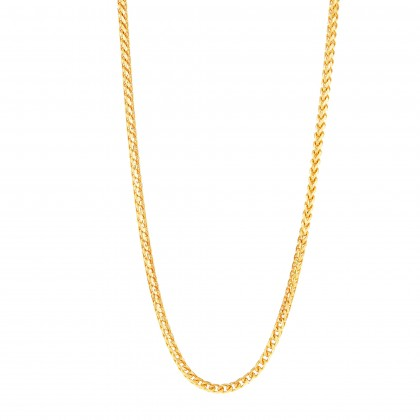 Kalila Yellow Gold Necklace, 916 Gold (15.96G) GC928